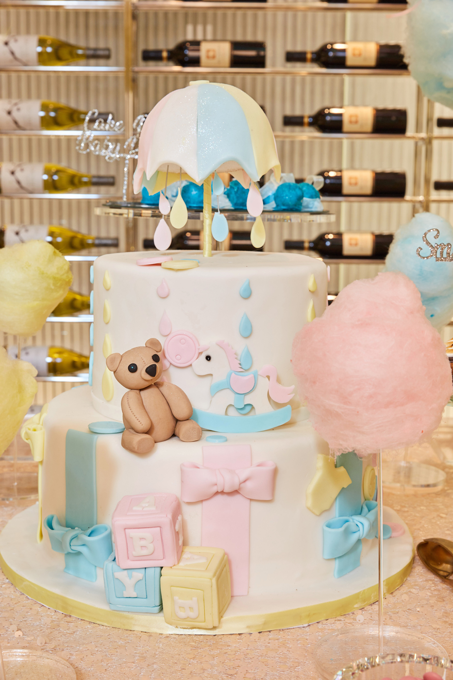 Blushing Baby Shower